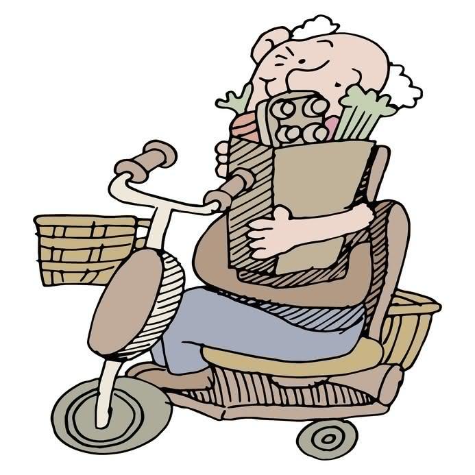elektro-scooter-rollstuhl