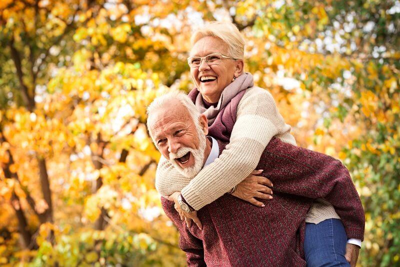Zufrieden altern