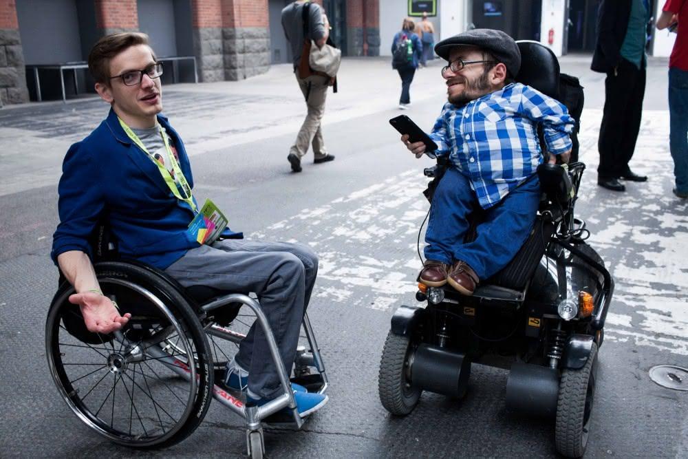 Rollstuhlarten