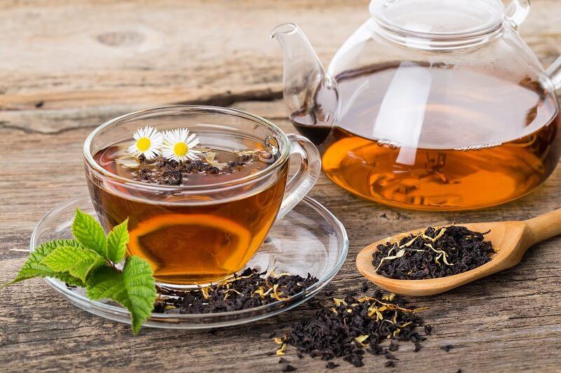Tee gegen Flüssigkeitsmangel