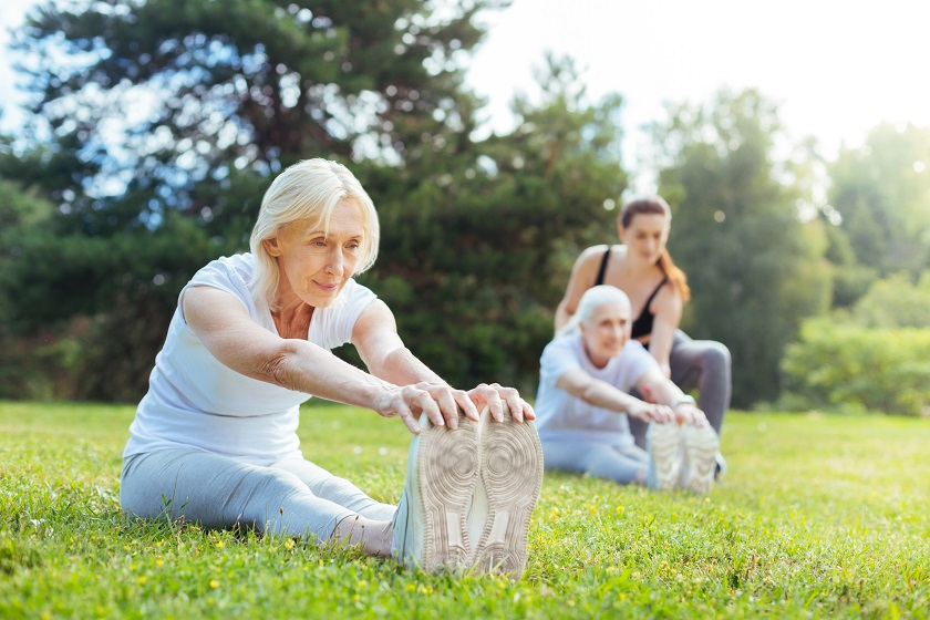 Rentnerin bei Kur Sport