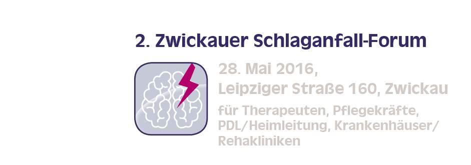 2. Zwickauer Schlaganfall-Forum 2016