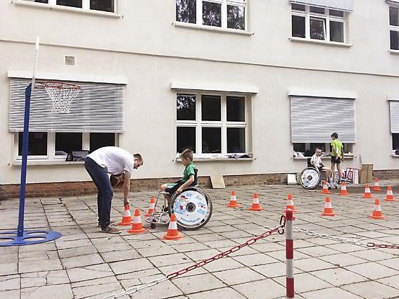 Alippi Premium beim Sportfest Planetenschule Chemnitz