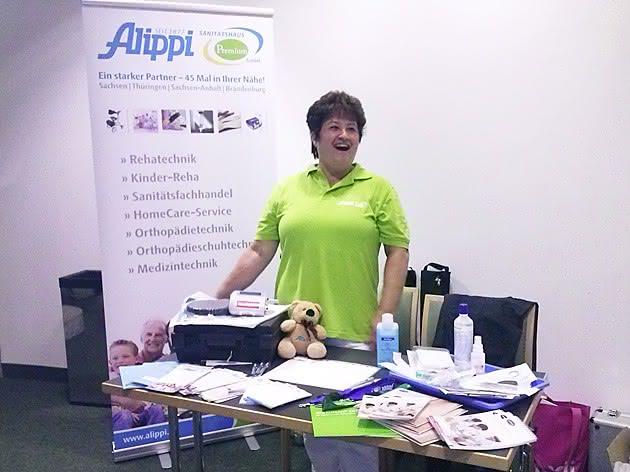 Alippi Premium beim 3. Wundabend der ICW in Leipzig