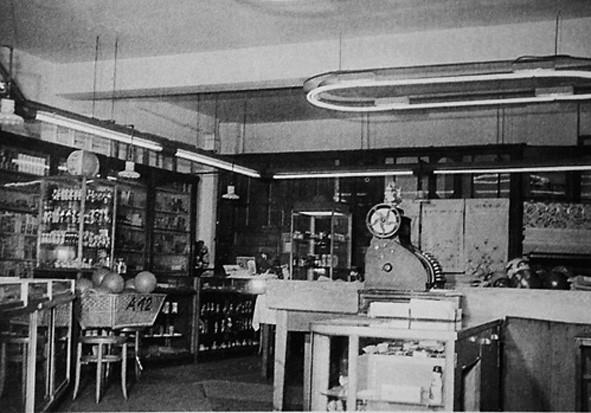 Alippi Geschäft innen, 1970er