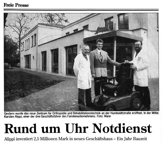Eroeffnung Brander Weg 1993