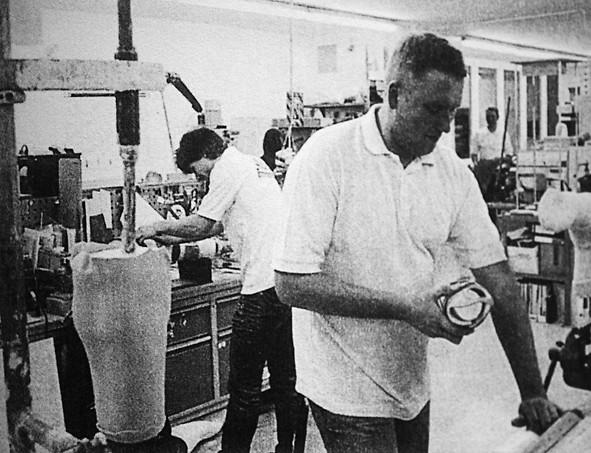 Orthopädiewerkstatt, 1970er