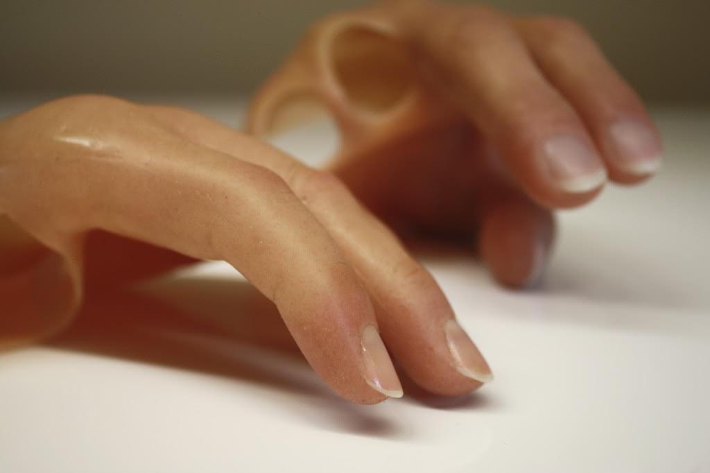 Silikonprothese Hand