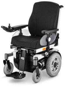 Elektro-Rollstuhl für Innen- und Außenbereich