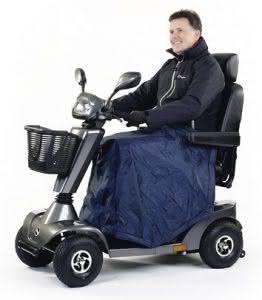 Beinschutzdecke für Scooter