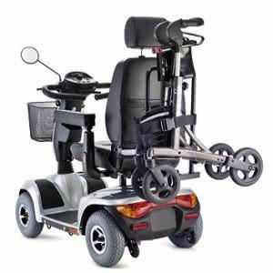 Rollatorhalter für Scooter