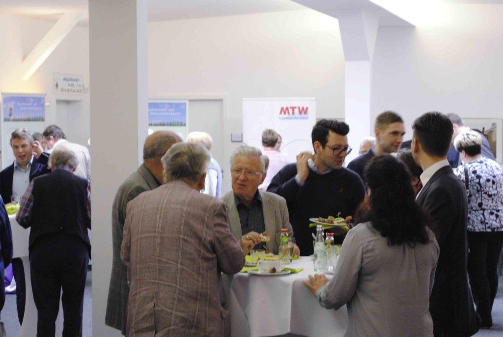 Imbiss zur Pause beim Viszeralmedizinischen Symposium in Zwickau