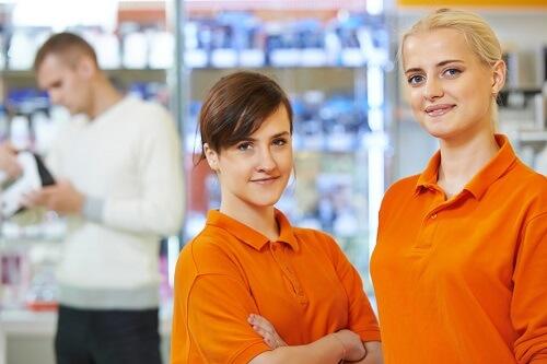 Alippi Sanitätsfachhandel Mitarbeiterinnen