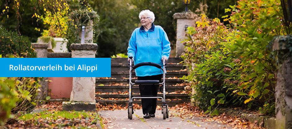 Rollatorverleih Alippi