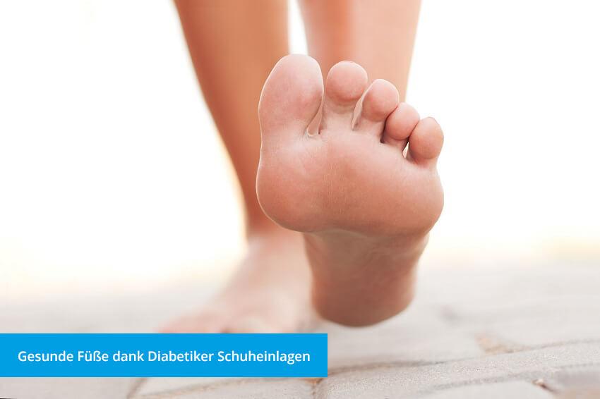 Diabetiker Schuheinlagen