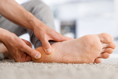 Diabetes Füße