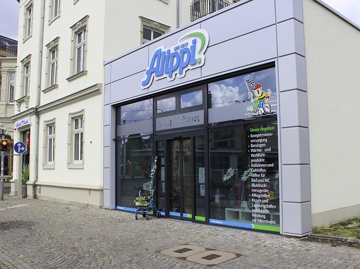 Sanitätshaus Alippi Leipziger Straße 14 Zwickau