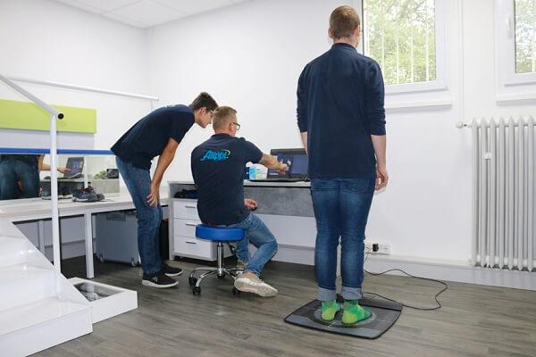 Sanitätshaus Alippi Fußdruckmessung
