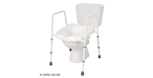 Toilettenstuhl für Übergewichtige