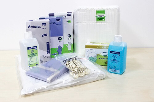 Pflegehilfsmittel bei Alippi