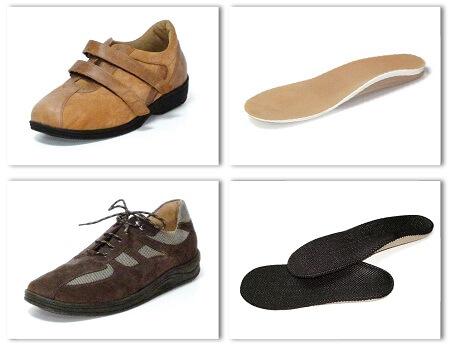 Diabetiker Schuhe mit Einlagen