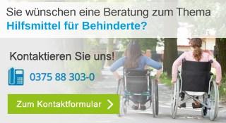 Hilfsmittel für Behinderte Banner mobil