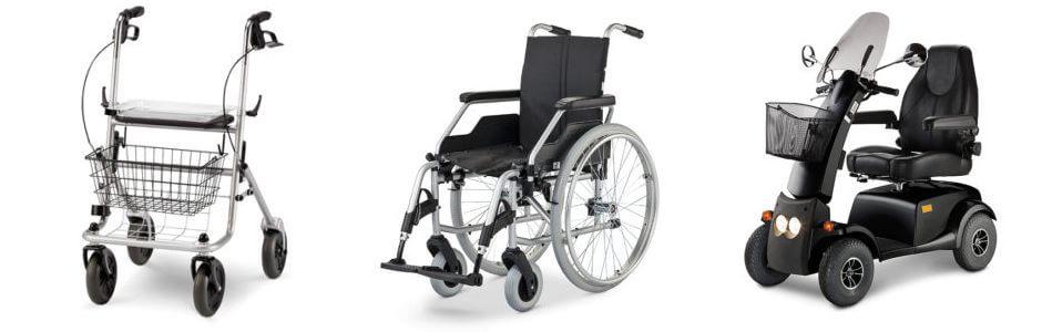 Mobilitätshilfen für Behinderte